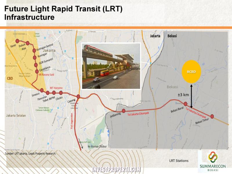 Lokasi BCBD Dekat LRT