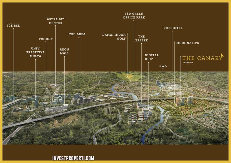 Lokasi Canary Serpong