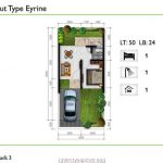 Rumah Golden Park3 TIpe Eyrine Layout