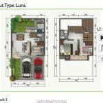 Rumah Golden Park3 TIpe Luna Layout