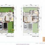 Denah Rumah Latigo Village Tipe 8x12