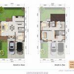 Denah Rumah Latigo Village Tipe 8x15