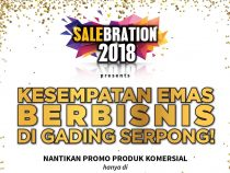 salebration ruko paramount 2018
