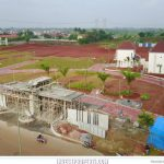 Foto Progress Pembangunan Gerbang Cluster Latigo