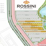 Siteplan Cluster Rossini at Symphonia