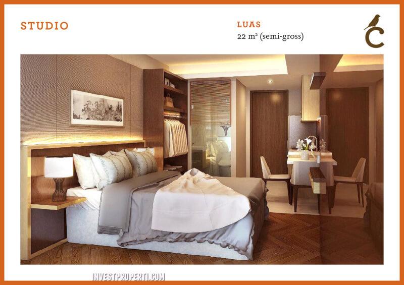 Studio Type - Canary Apartment