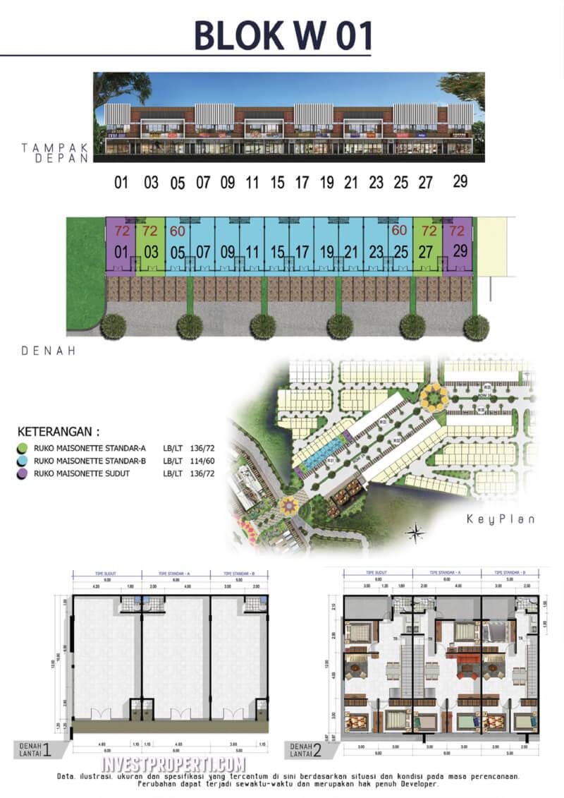 Blok W01 Maisonette CitraRaya
