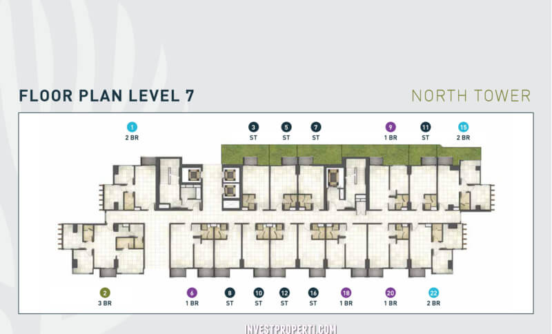 Floor Plan Level 7