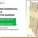 Kavling Komersial Blok O Scientia Garden