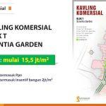 Kavling Komersial Blok T Scientia Garden