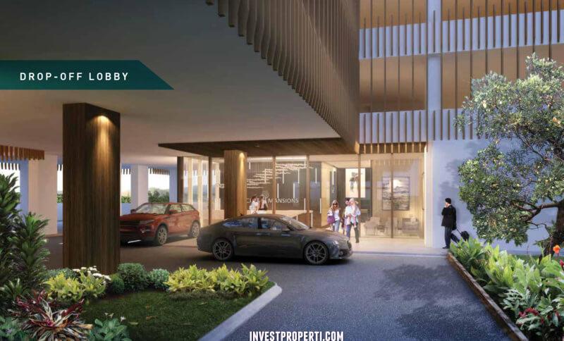 Lobby Apartemen Cleon Park