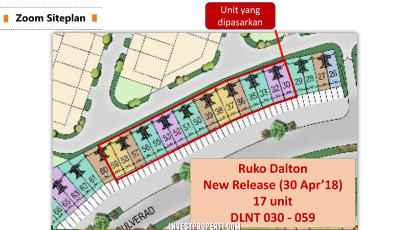 Site Plan Cluster Rossini Symphonia Summarecon Serpong