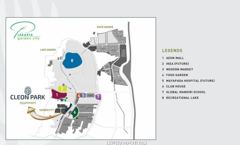 Peta Lokasi Cleon Park
