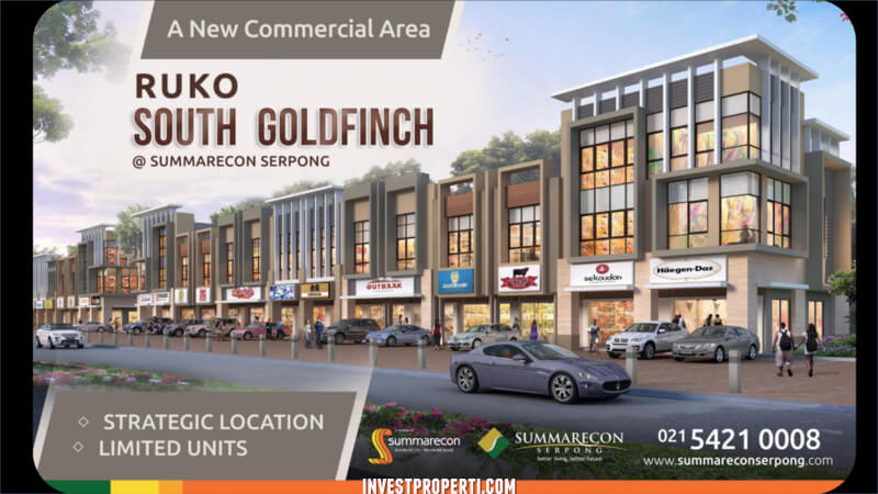 Ruko South Goldfinch Gading Serpong