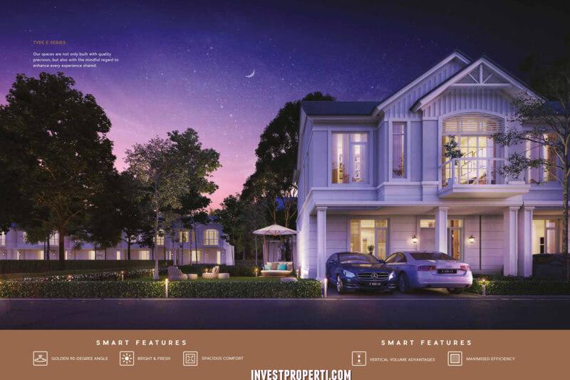 Rumah Lavon E-Series Cluster Regalia