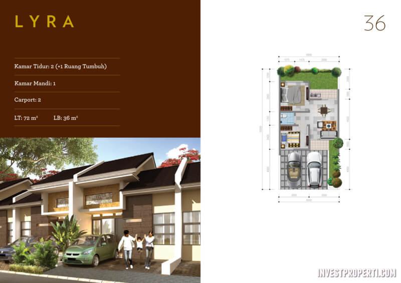 Rumah Vinus 88 Tangerang Tipe 36