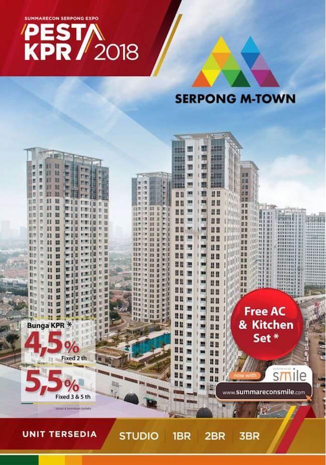 Apartemen Serpong M-Town Dijual 2018