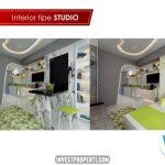 Show Unit Apartemen SpringLake View Bekasi Tipe Studio