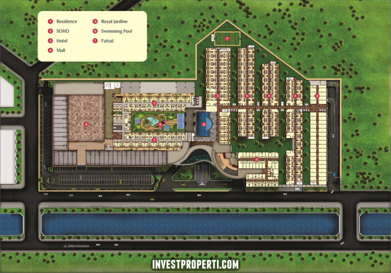 Bandara City Site Plan