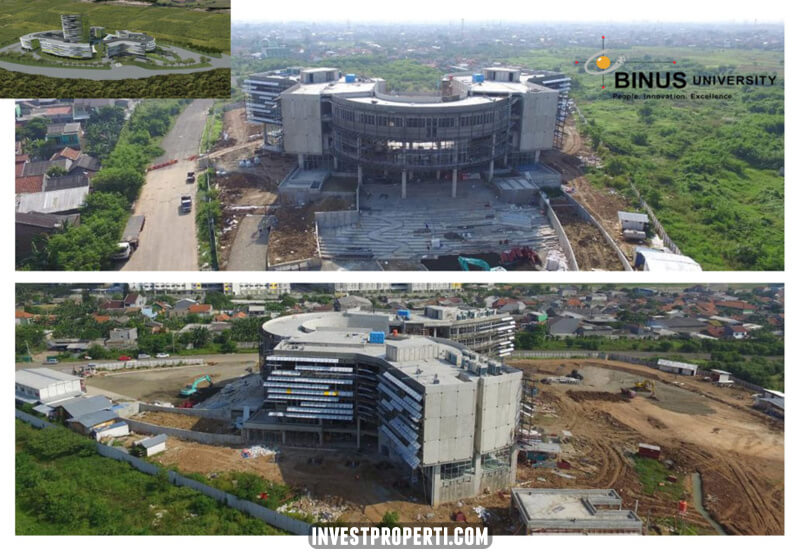 Progress University BINUS Bekasi