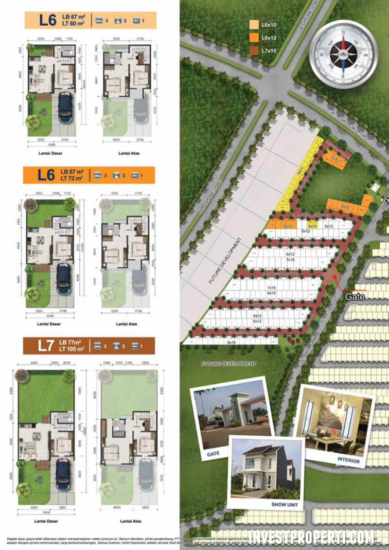 Site Plan Carrillo Residence Paramount Serpong