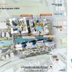 Site Plan The SpringLake View Apartemen