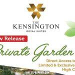 The Kensington Royal Suites Private Garden