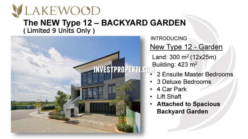 Dijual Rumah Lakewood Navapark Tipe 12
