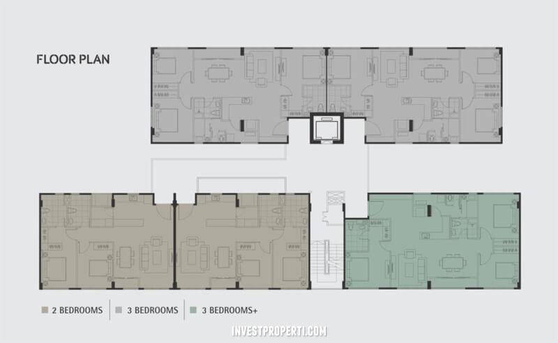Floor Plan Apartemen Lloyd Signature Alam Sutera