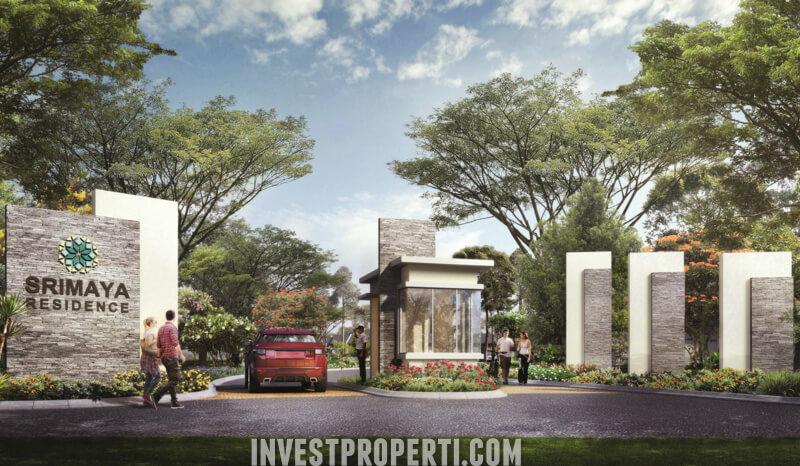 Gate Cluster Srimaya Residence Bekasi
