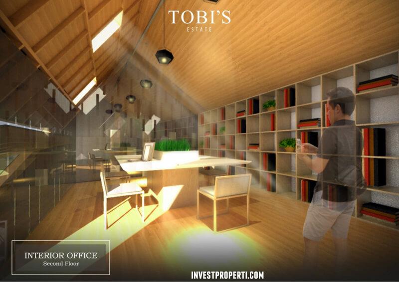 Tobils Villa Bali Office Interior