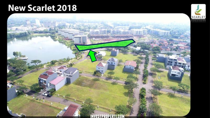 Lokasi Kavling New Scarlet 2018 Summarecon Serpong