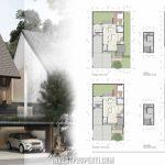 Denah Rumah Cluster Caelus Greenwich Park Tipe 10