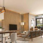 Interior Design Rumah Cluster Caelus Greenwich Park Tipe 10
