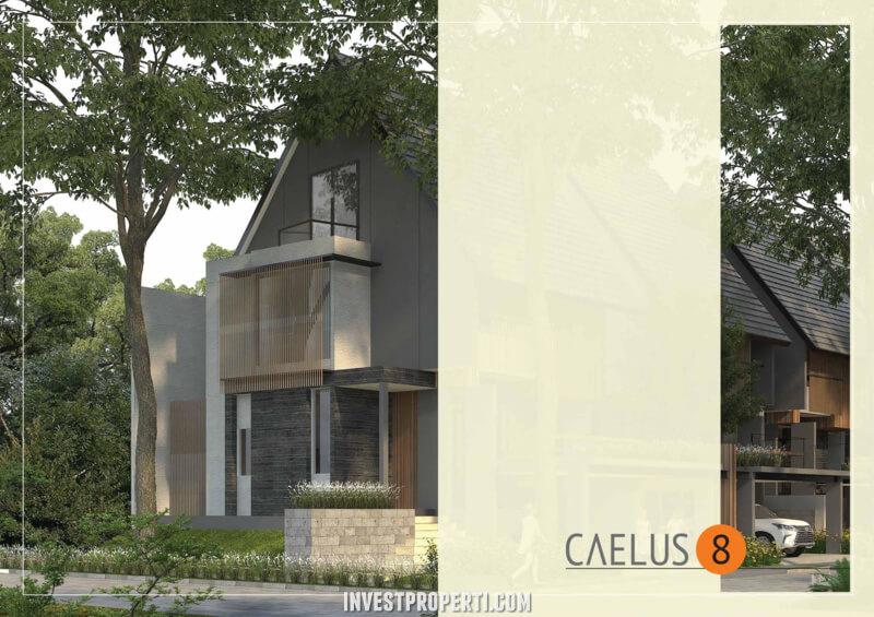 Rumah Cluster Caelus Greenwich Park Tipe 8