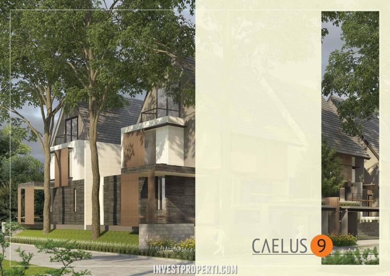 Rumah Cluster Caelus Greenwich Park Tipe 9