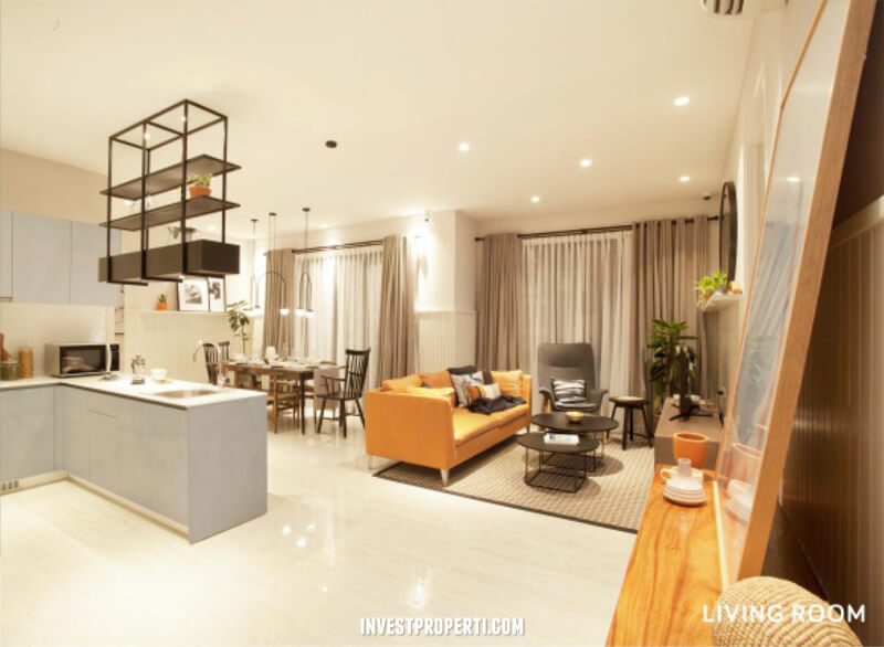 Show Unit Apartemen Lloyd 3 Bedroom