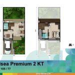 Denah Rumah Chelsea Premium 2 KT