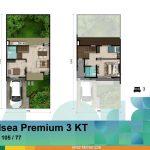 Denah Rumah Chelsea Premium 3 KT