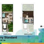 Denah Rumah Cherry Standard