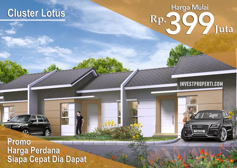 Dijual Rumah Cluster Lotus Legok