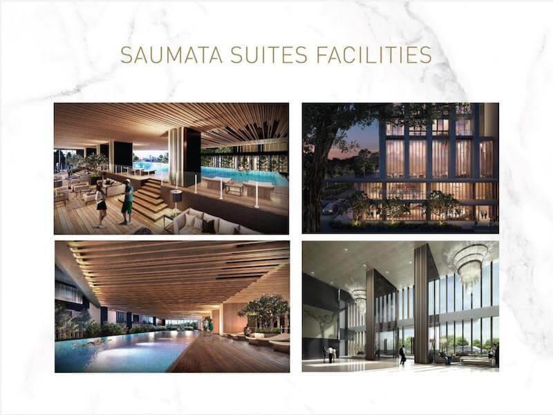 Fasilitas Apartemen Saumata Suites