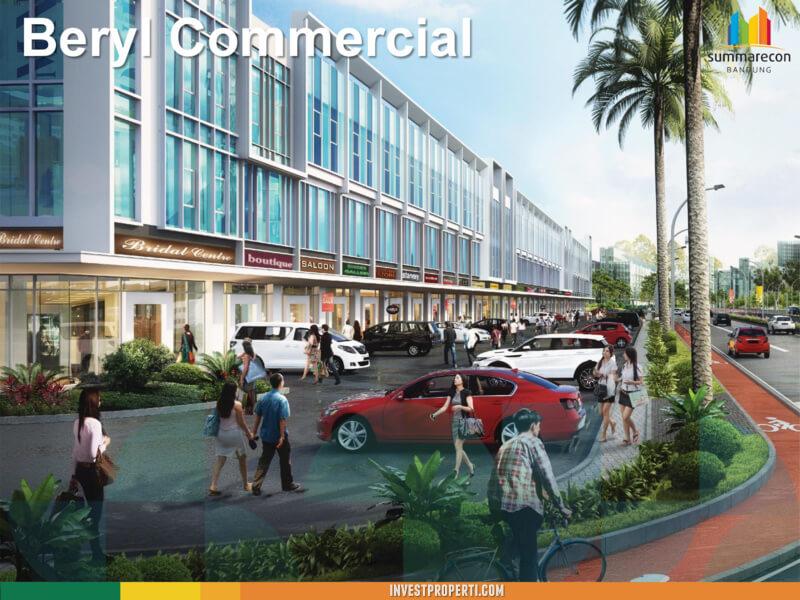 Ruko Beryl Commercial Summarecon Bandung