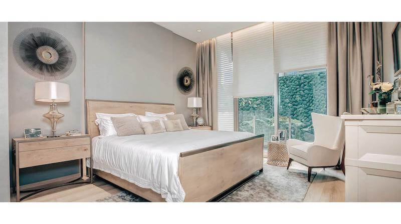 Show Unit Apartemen Saumata Suites - Master Bedroom
