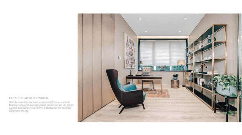 Show Unit Apartemen Saumata Suites