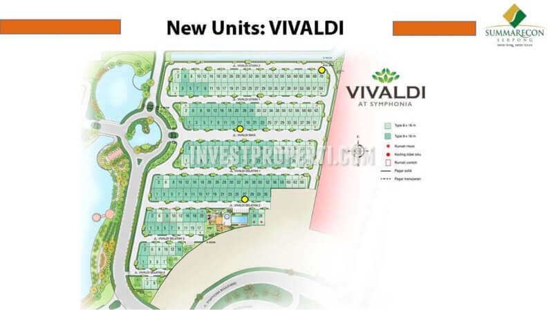 Unit Rumah Vivaldi Symphonia Summarecon