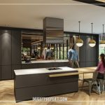 Upper West BSD Private Dining Lounge Pantry