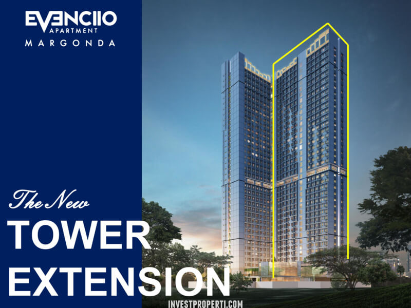 Apartemen Evenciio Margonda Tower Extension