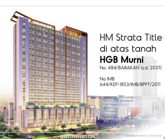 Apartemen Skandinavia Tangerang tower Alter Ego