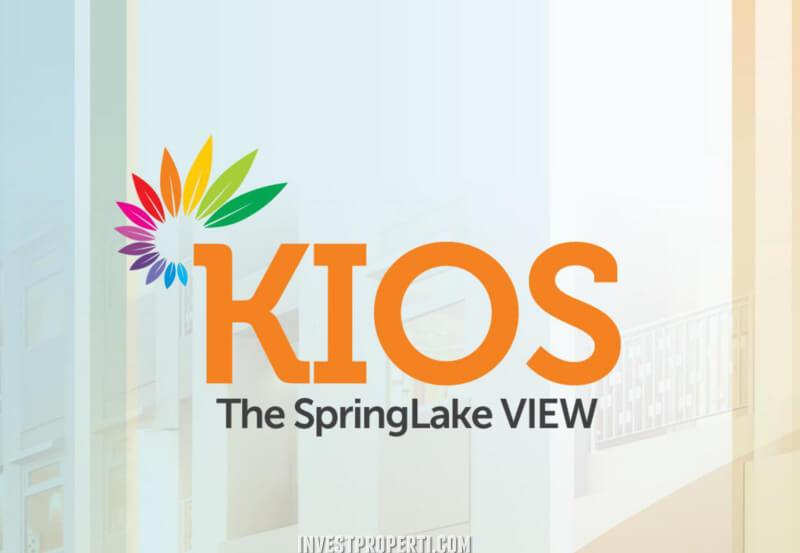 Brosur Kios The SpringLake View Summarecon Bekasi